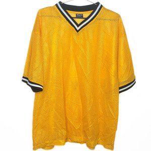 Yellow Breeze Bignd Soccer Sports Jersey